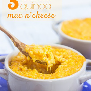 5-Ingredient Quinoa Mac and Cheese.