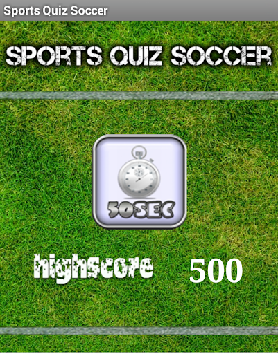 Sports Quiz Soccer