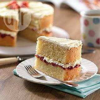 Perfect Victoria sponge cake.