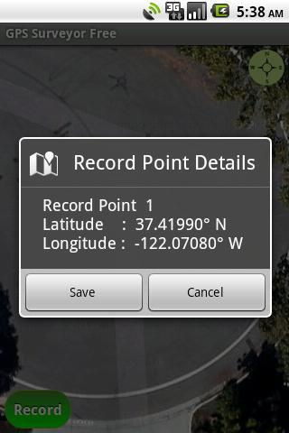 GPS Surveyor Free - screenshot