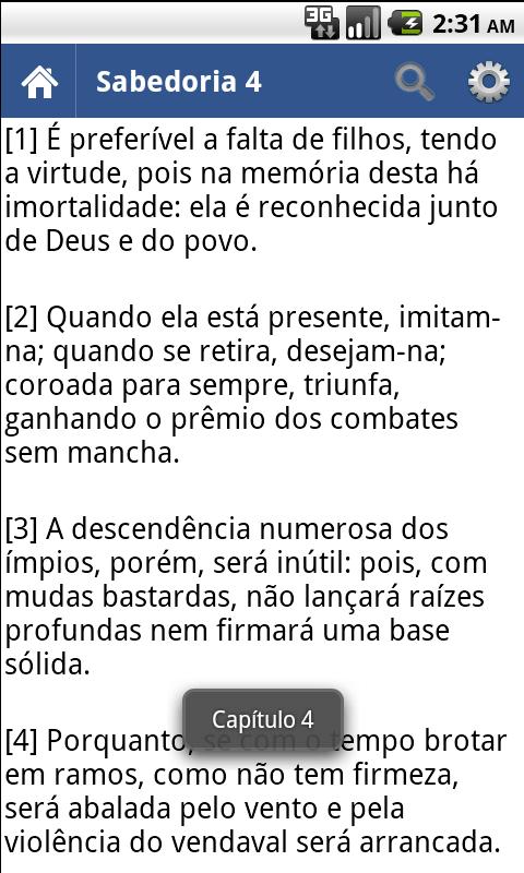 Bíblia em Português Offline - screenshot