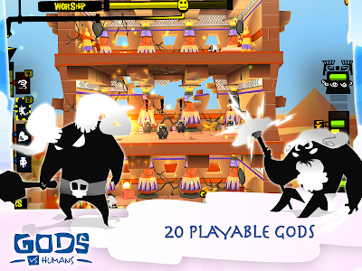 Gods VS Humans v1.2