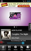 Screenshot of 95-7 R & B Smooth R & B