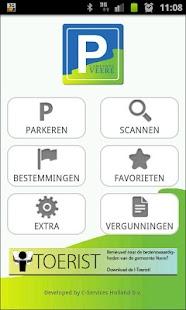 De Gemeente Veere parkeerapp: miniatuur van screenshot