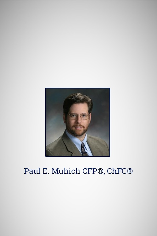 Paul Muhich CFP ChFC- screenshot