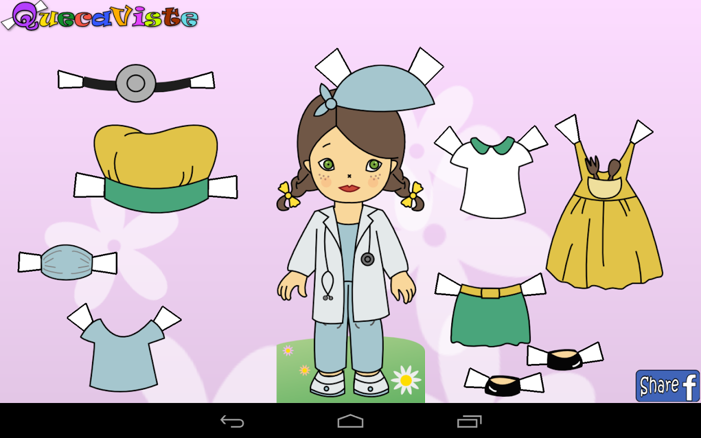 Queca Dress up Paper Dolls  Android Apps on Google Play