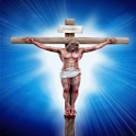 Jesus On Cross Live Wallpaper icon
