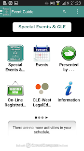 WCL Special Events & CLE - screenshot thumbnail