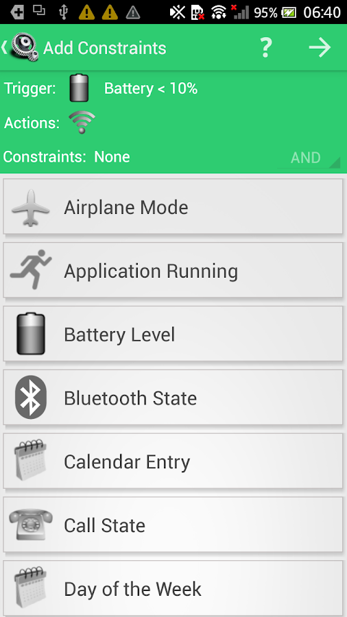 MacroDroid - Device Automation - screenshot