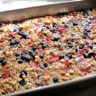 Baked Quinoa and Oatmeal