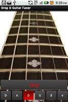 Screenshot of Drop D Guitar Tuner