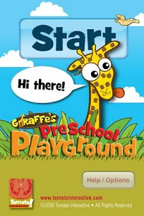 Giraffe's PreSchool Playground - screenshot thumbnail