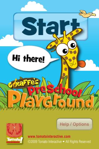 Giraffe's PreSchool Playground - screenshot