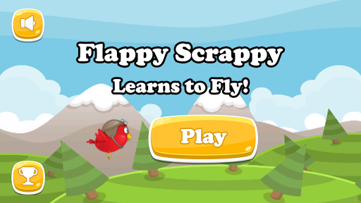 Flappy Scrappy Learns To Fly