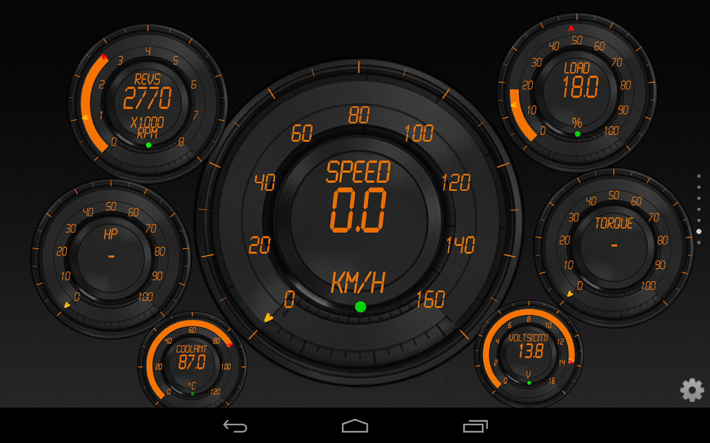 Torque Precision Theme Obd Android Apps Play