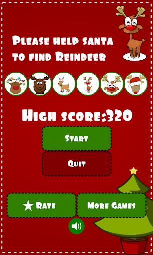 Find Reindeer for Christmas