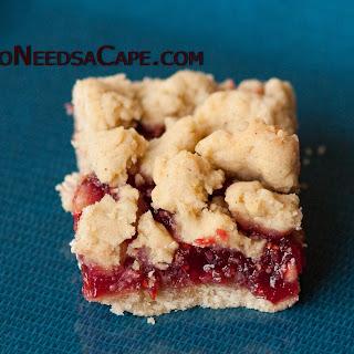 Raspberry Crumb Bars