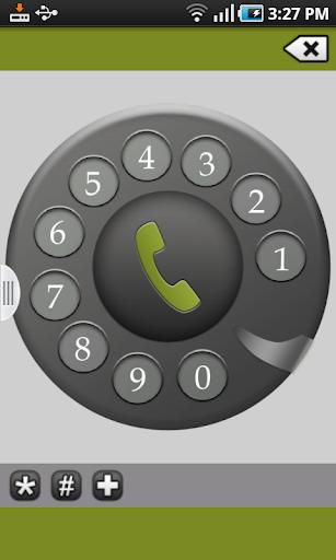 旧电话拨号器