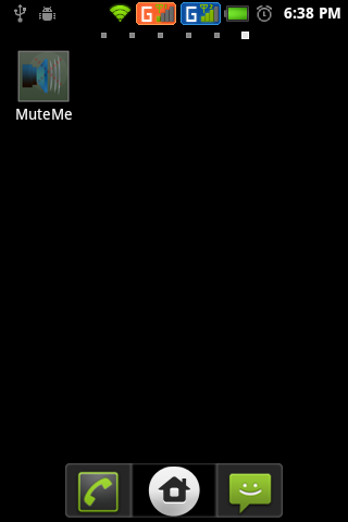 MuteMe(Mute All Sounds) - screenshot