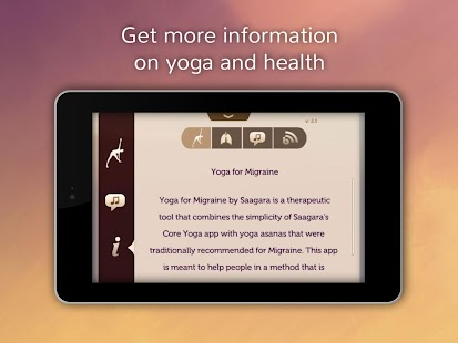 Yoga for Migraines- screenshot thumbnail