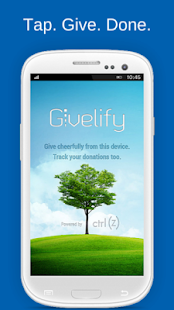 Givelify Mobile Giving App Screenshot 1