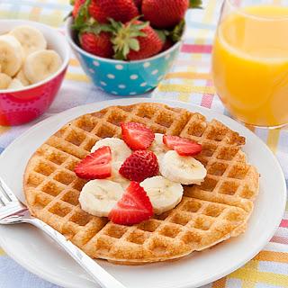 Tutti Frutti Waffles.