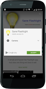 Sane Flashlight- screenshot thumbnail