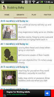 Budding Baby: Milestones - screenshot thumbnail