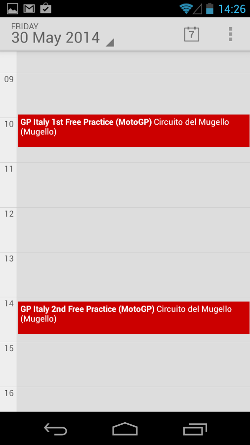 Moto Race GP Calendar 2018 - Android Apps on Google Play