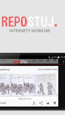 Repostuj Mobile - screenshot