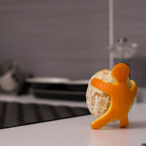 Orange Carrier by Baltă Mihai - Food & Drink Fruits & Vegetables ( abstract, home, orange, fineart, carrier )