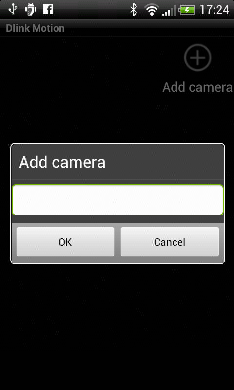 Dlink motion detector- screenshot
