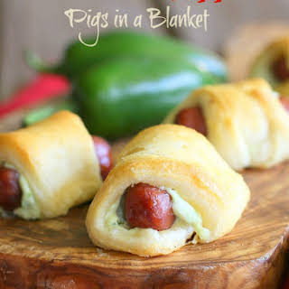 Jalapeno Popper Pigs In a Blanket.