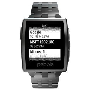 InvestControl for Pebble- screenshot thumbnail