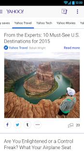 Yahoo - News, Sports & More - screenshot thumbnail