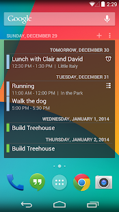 Calendar Widget - screenshot thumbnail
