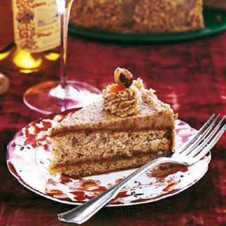 Hungarian Hazelnut Torte.