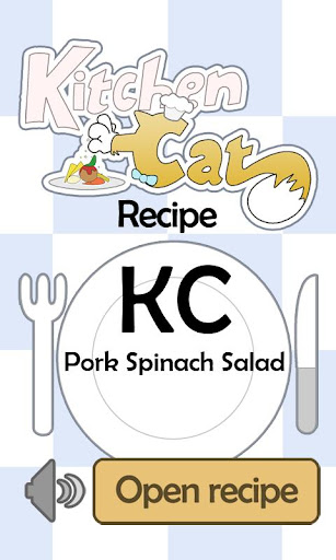 KC Pork Spinach Salad