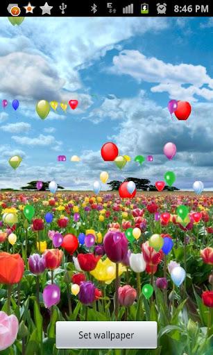 Blue Skies balloon LWP