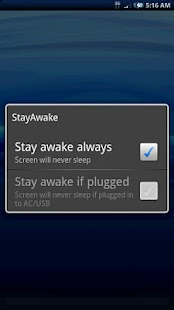 StayAwake- screenshot thumbnail