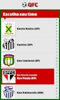Screenshot of Quiz Futebol Club