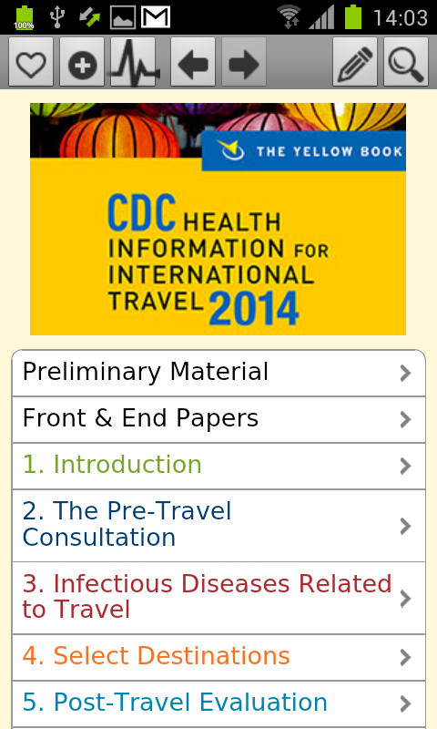 CDC 2014 - The Yellow Book - screenshot