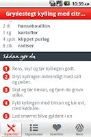 Screenshot of Aftensmad