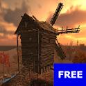 FREE GYROS 3D WINDMILL LWP icon
