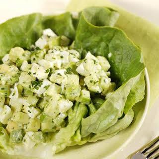 Egg White and Avocado Salad.