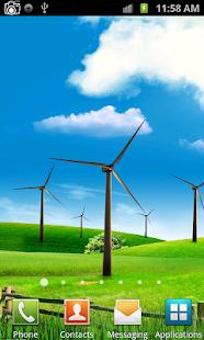 風車動態壁紙
