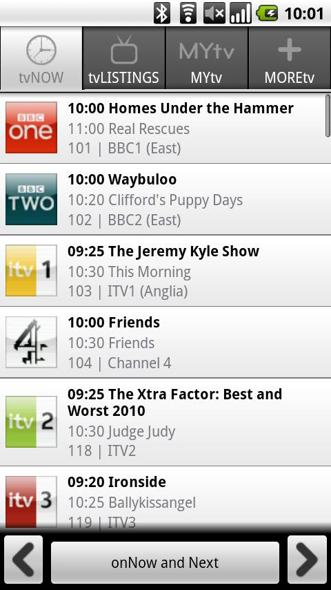 FindMeTV - TV Guide - screenshot