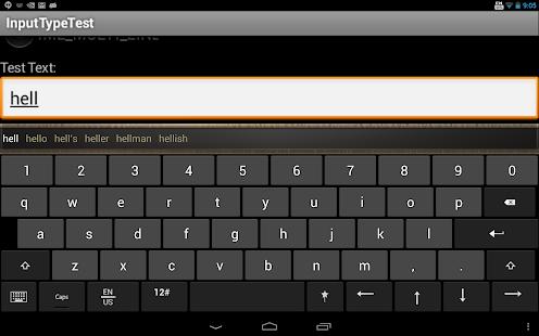More Keyboards screenshot