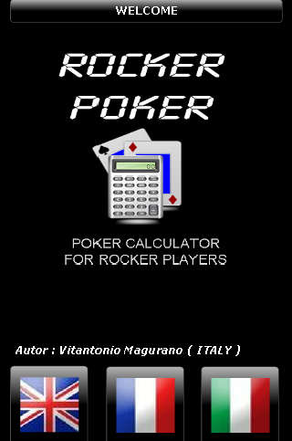 Rocker Poker Calculator