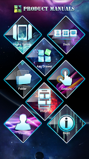 Next Launcher 3D Manuals- screenshot thumbnail